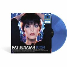 PAT BENATAR ICON VINYL NEW! BLUE LIMITED EXCLUSIVE LP HIT ME WITH YOUR BEST SHOT