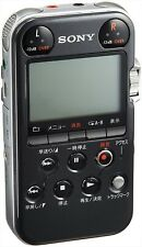 SONY PCM-M10 B Black Audio Linear PCM Recorder from Japan Used