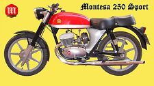 MONTESA 250 S SPORT OPERATIONS TECH & PARTS MANUAL for 250S Motorcycle Service