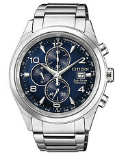 CITIZEN Herrenuhr Chronograph Eco-Drive Super Titanium Chrono CA0650-82L