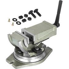 2 Way 4 Tilting Amp Swiveling Milling Vise 75mm Open Clamping Vise Lock Vise