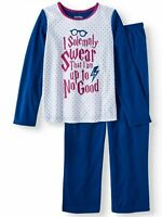 Girls Harry Potter 2 Piece Long sleeve Pajamas pajama set size 4/5 Flannel