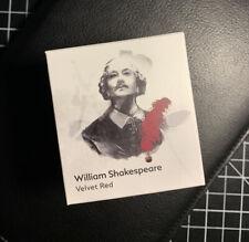 NEW Montblanc William Shakespeare Velvet Red Ink (NEVER OPENED)