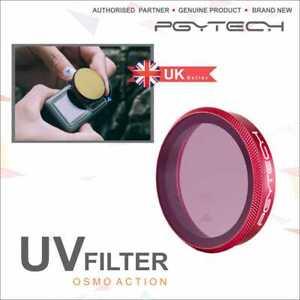 PGYTECH  PROFESSIONAL UV FILTER FOR DJI  OSMO ACTION CAMERAS