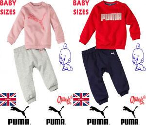 Puma Baby Boy-Baby Girl Puma Tracksuits-Kids Puma Tracksuits Up To 3 Years Old