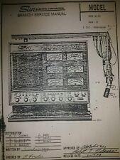 Sun electric 1115 &1015 engine analyzer service manual in pdf format
