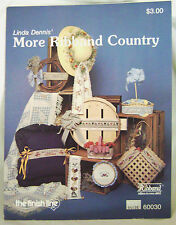 Cross Stitch Ribbon More Ribband Country Linda Dennis Designs Counted Patterns