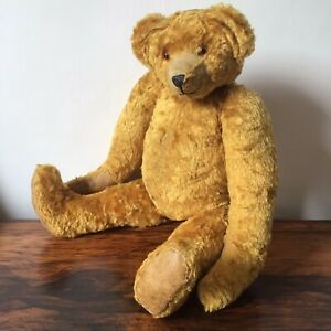 Antique Vintage Teddy Bear 1920s 1930s Interesting History
