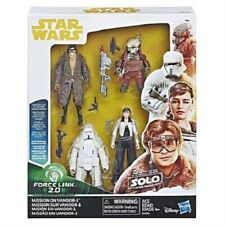 Solo A Star Wars Story Force Link 2.0 Mission on Vandor-1 Action Figure 4-Pack