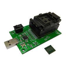eMCP162/186 test socket USB Reader IC size 12x16mm nand flash test BGA162/186