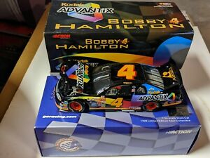 1999 Action BOBBY HAMILTON #4 Kodak Advantix Chevy ACTION Nascar 1/24