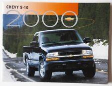 CHEVROLET S-10 2000 dealer brochure catalog - English - Canada