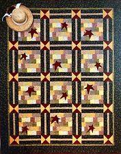 Timid Thimble Creations Quilt Pattern PRAIRIE PICNIC Stars Squares Wonderful !