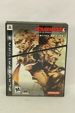 Metal Gear Solid 4: Guns of the Patriots Limited Edition PS3 Complete