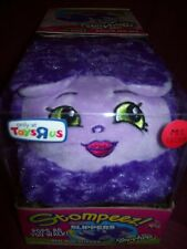 SHOPKINS STOMPEEZ BUN BUN SLIPPERS - Size Kids M/L 3.5 - 7 - PURPLE - NEW IN BOX