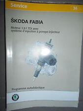 SKODA moteur 1.9 TDI a injecteur pompe ATD - Fabia : programme autodidactique 36