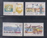 Nauru 1975 Phosphate Sc 120-123  Complete Mint Never Hinged