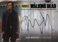 Walking Dead Season 4 Part 1 Autograph Card DM2 David Morrissey As The Governor