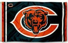 New Chicago Bears Flag Large 3'X5' Banner Nfl Free Shipping!