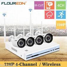Floureon 4CH 1080P CCTV DVR Sans Fil Wifi IP Caméra Vidéo Enregistreur Sécurité