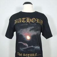 BATHORY The Return... T-Shirt Black Men's size M (NEW)