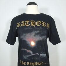 BATHORY The Return... T-Shirt Black Men's size L (NEW)