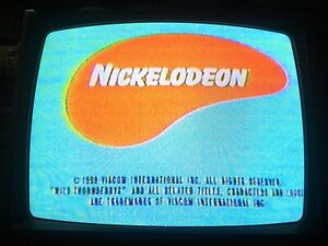 VHS Sold As Blank Nickelodeon Nick Commercials Gas Thornberries Rugrats Catdog