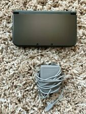 Nintendo New 3DS XL System Black w/ Top IPS Screen + Charger Stylus SD Card