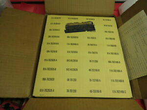 NOS 1930's 40's Ford Dealer parts department bin labels HUGE LOT No Reserve