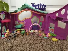 Littlest Clubhoude LPS Used Treehoude Lot Play Purple + Accessories