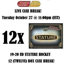 19-20 UD STATURE 12 (TWELVE) BOX INNER CASE BREAK #1986 - Boston Bruins