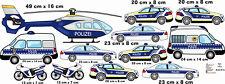 Wandtattoo polizei kinderzimmer Polizeiautos Aufkleber Autos Kinderzimmer Baby