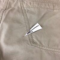Men's Arc'teryx Chinos Shorts 30x10.5 Side Pocket Outdoors Slim Leg Cotton Poly
