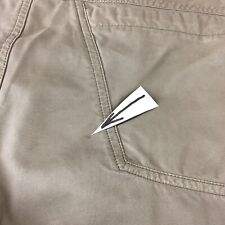 Men's Arc'teryx Chinos Shorts 30x10.5 Side Pocket Outdoors Slim Leg Cotton Poly