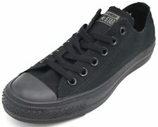 Converse Chuck Taylor All Star Ox Black Canvas Sneaker Trainers M5039c UK 4