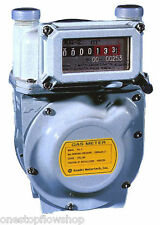 "½"" Diaphragm gas meter::secondary billing::Natural Gas, LPG, Air, Nitrogen"