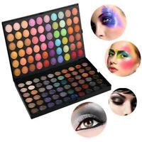 120 Farben Lidschatten Eyeshadow Kosmetik Matt Schminke Make-up Set Palette G1D8