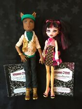 Monster High Dolls - School's Out Forbitten Love - Draculaura & Clawd Wolf