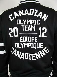 RARE HUDSON'S BAY LONDON 2012 OLYMPIC TEAM CANADA TRACK SUIT MANS JACKET COAT~M