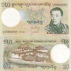Bhutan banconota 20 ngultrum