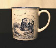 New listing Vintage Down East Crafts 1983 Sea Otters Coffee Tea Mug Yarnouth, Maine
