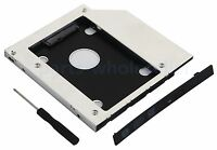 2nd SSD HD SATA Hard Drive Optical Caddy for Lenovo IdeaPad Z50-70 B50-30 E50-70