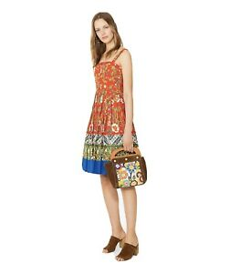 Tory Burch Featured Runway Dress - Floral Pleated - Size 4 NWT