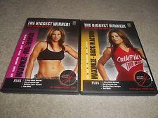 Jillian Michaels The Biggest Winner - Back in Action / Full Frontal - 2 DVD EUC
