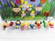 Cartoon Ben and Holly's Little Kingdom 8PCS Figures 3″ Pendant Hot Fashon Kids