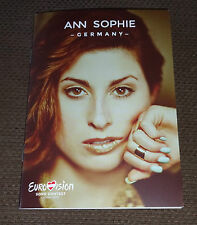 Eurovision 2015 Germany press booklet Ann Sophie Black smoke