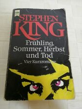 Stephen King Fruhling Sommer Herbst und Tod Different Seasons GERMAN EDITION