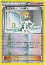 POKEMON CARD XY BREAK-POINT TRAINER- MISTY'S DETERMINATION 104/122 REV-ERSE HOLO