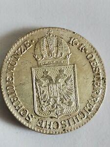 AUSTRIA  6 Kreuzer 1849 A  BELLA.                               121