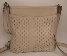 Clarks pelle crema Shoulder Bag Handbag